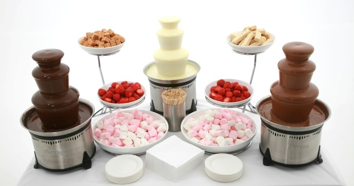 Chocolate Fondue Fountain Recipe